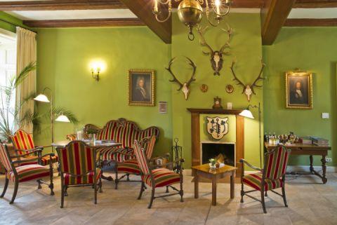 Empfang Romantik Hotel Gutshaus Ludorf