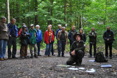 Mitarbeiter des Nationalparkamtes vermitteln aus erster Hand Wissenswertes über die Natur im Müritz-Nationalpark.