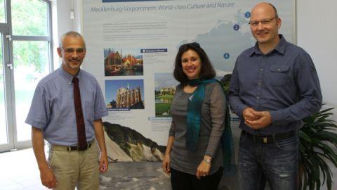 Ausstellung über Mecklenburg-Vorpommerns Welterbe in Mirow eröffnet