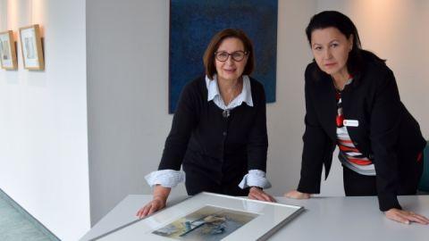 Monika Bertermann und Andrea Binkowski
