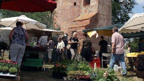 Jahrmarkt auf Burg Klempenow