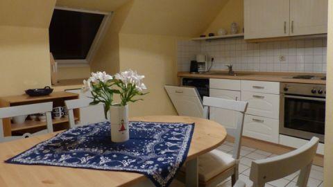 Küche - Ferienwohnungen Gutshaus Henningsfelde