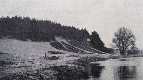 Naturbad an der Feisneck und den stark besonnten Hang des Pfennigberges