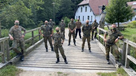 Eine starke Truppe im Müritz-Nationalpark